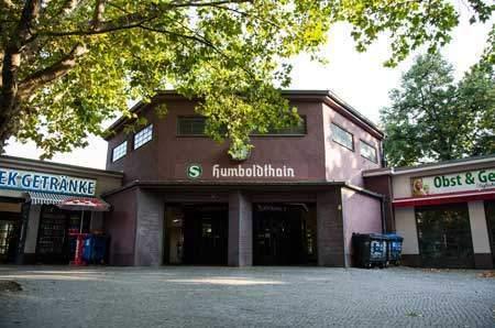 Humboldthain S-Bahnhof Station / Nazi Architecture