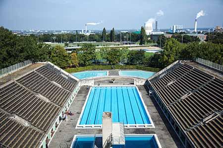 Sommerbad Olympiastadion / Grünes Berlin