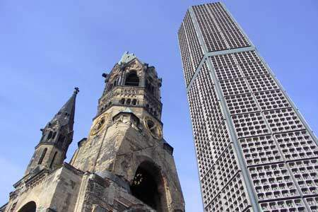 Kaiser Wilhelm Memorial Church / sightseeing berlin