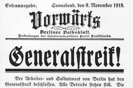 The November Revolution / Berlin's History