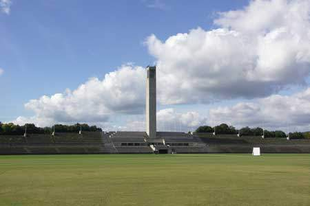 Olympic Stadium and Maifeld / Nazi Architecture