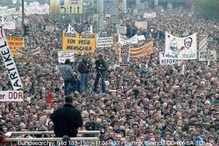East Berlin: Revolution of 1989 / Berlin's History
