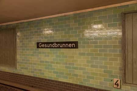 Gesundbrunnen U-Bahn Station / Nazi Architecture
