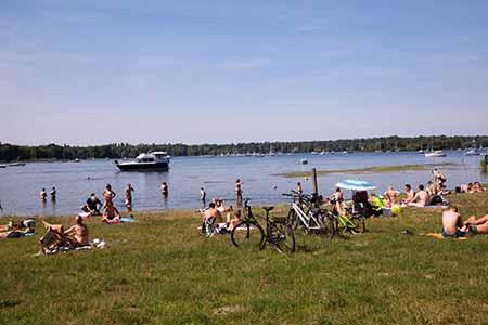 Alter Hof: Havel River / Green Berlin
