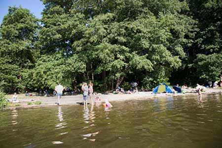 Lieper Bucht: Havel River / Green Berlin